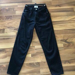 High Waisted Zara jeans!!